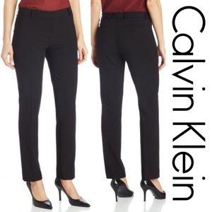 Calvin Klein Skinny Leg Tapered Dress Pant 10